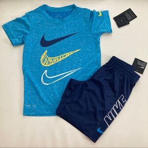 Nike dri-fit cute shorts set 2118